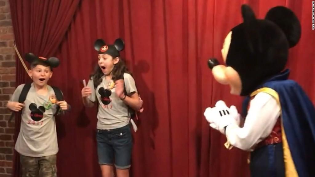 Adoption day dreams came true at Disney World