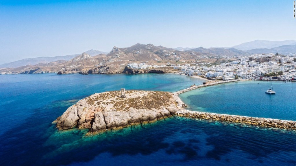 Naxos: Live well -- or vacation well -- on this lush Greek Island