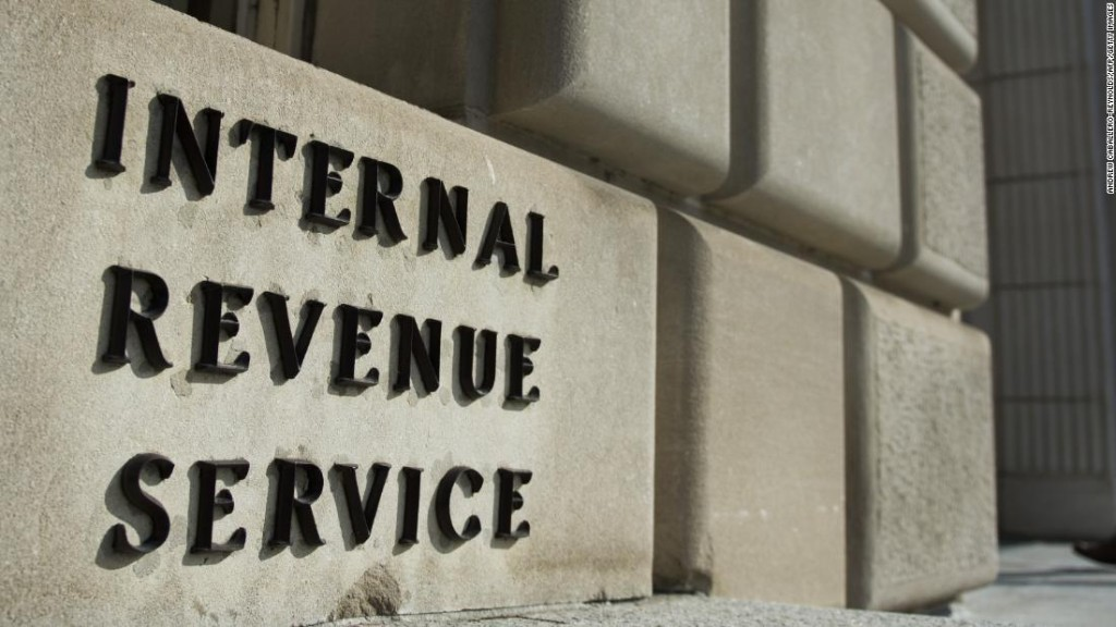 The IRS is holding mail in trailers amid the pandemic