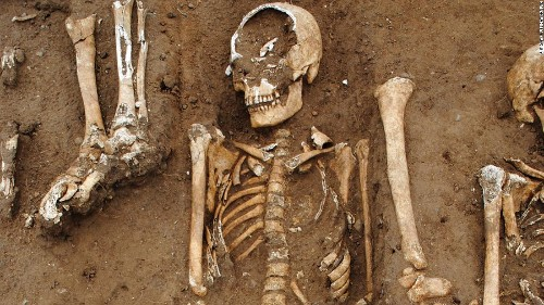 Medieval 'Black Death' mass grave uncovered in the English countryside