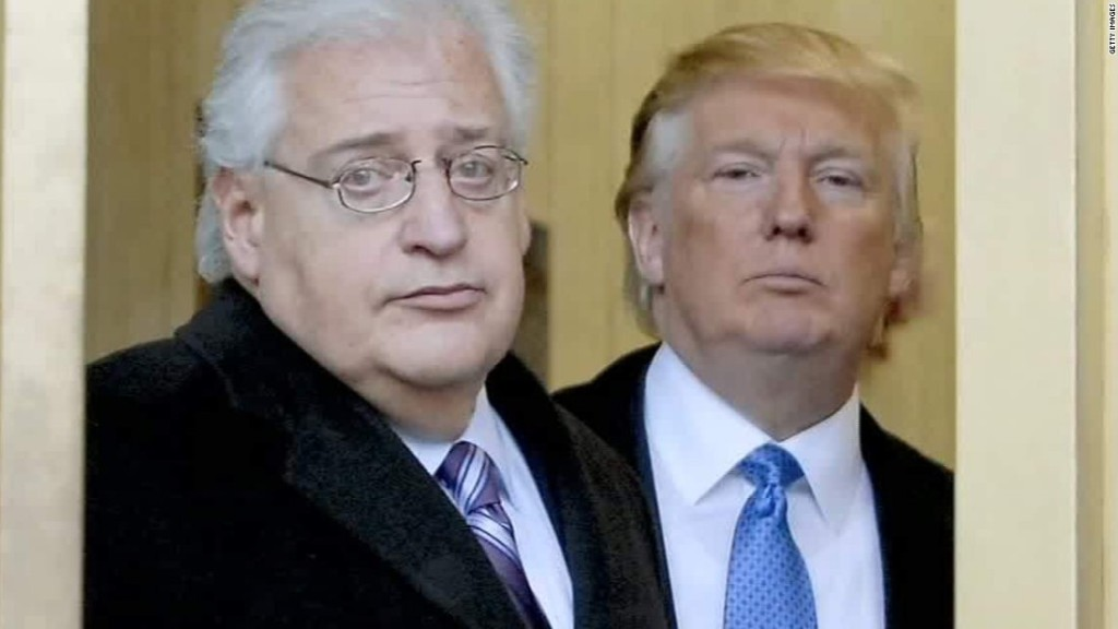 Why Trump's Israel ambassador could upend Middle East ties