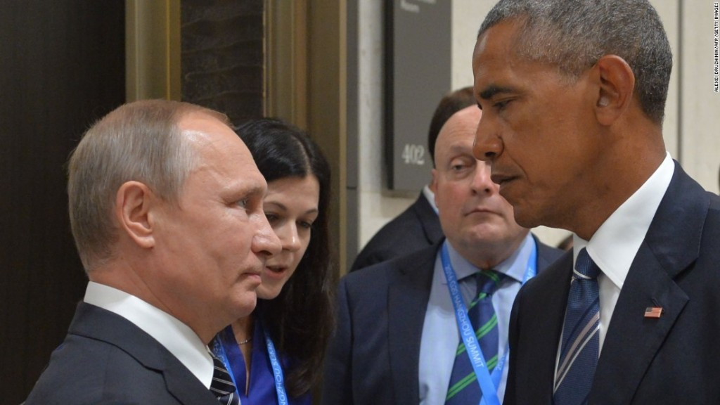 Russia sanctions announced by White House