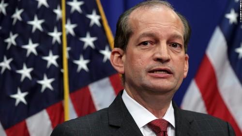 Acosta resigns amid furor over Epstein plea deal