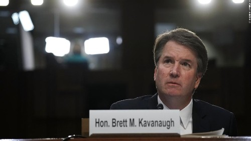 Lawyer: Kavanaugh accuser willing to testify publicly