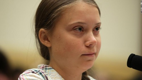 Greta Thunberg has a suggestion for Congress on how to take real action on the climate crisis