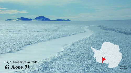 First woman to cross Antarctic solo: I've never felt so alone