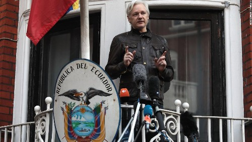 Assange's father urges Australian government to bring him home