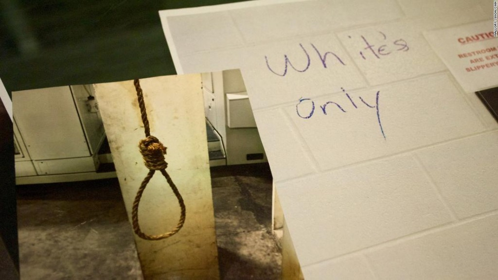 Inside the GM plant where nooses and 'whites-only' signs hung
