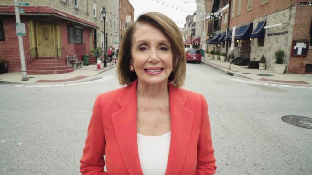 Pelosi: 'I want women to see that you do not get pushed around'