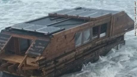 An inventor abandoned his solar-powered boat in Canada. Later, it washed up 2,000 miles away
