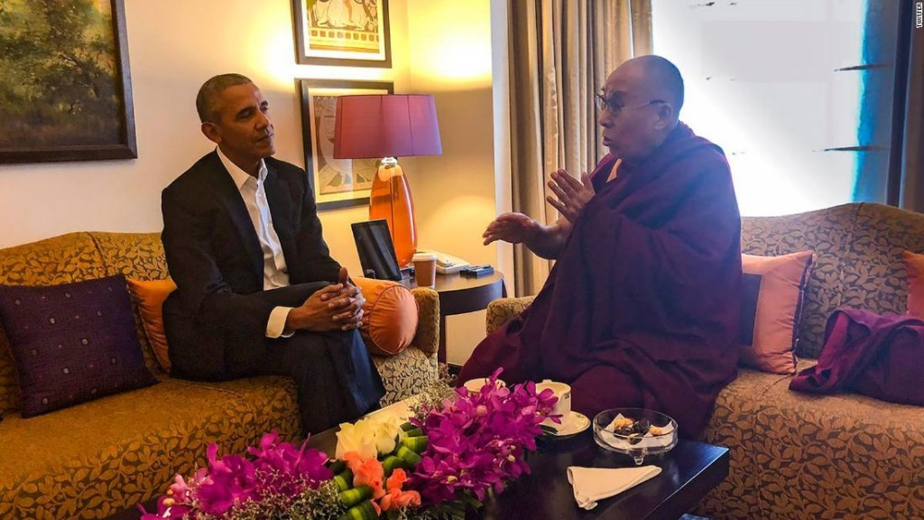 Dalai Lama to Obama: 'You are young and can do a lot'