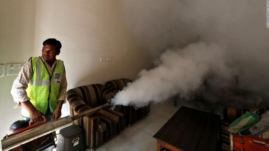 Zika spreads rapidly in India, with 94 cases confirmed