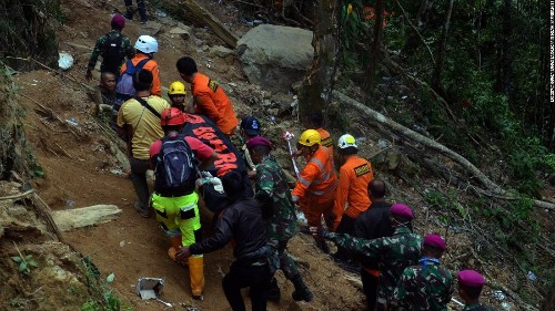 Three dozen trapped Indonesian gold miners feared dead as oxygen supply in shaft falls