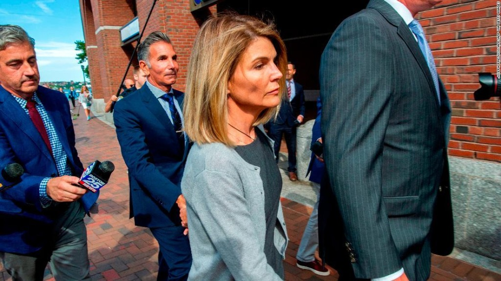 Lori Loughlin and Mossimo Giannulli plead guilty in college admissions scam