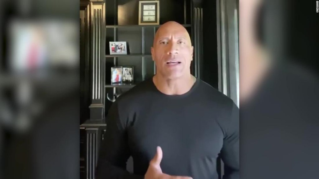 The Rock just gave a more presidential speech than Trump