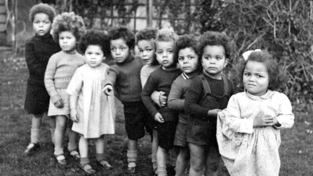 Britain's mixed-race GI babies want to know why they were given away