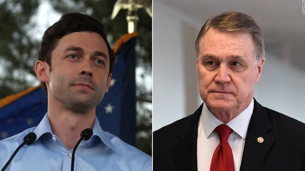 Republicans on the run in Georgia with two Senate seats within Democratic reach