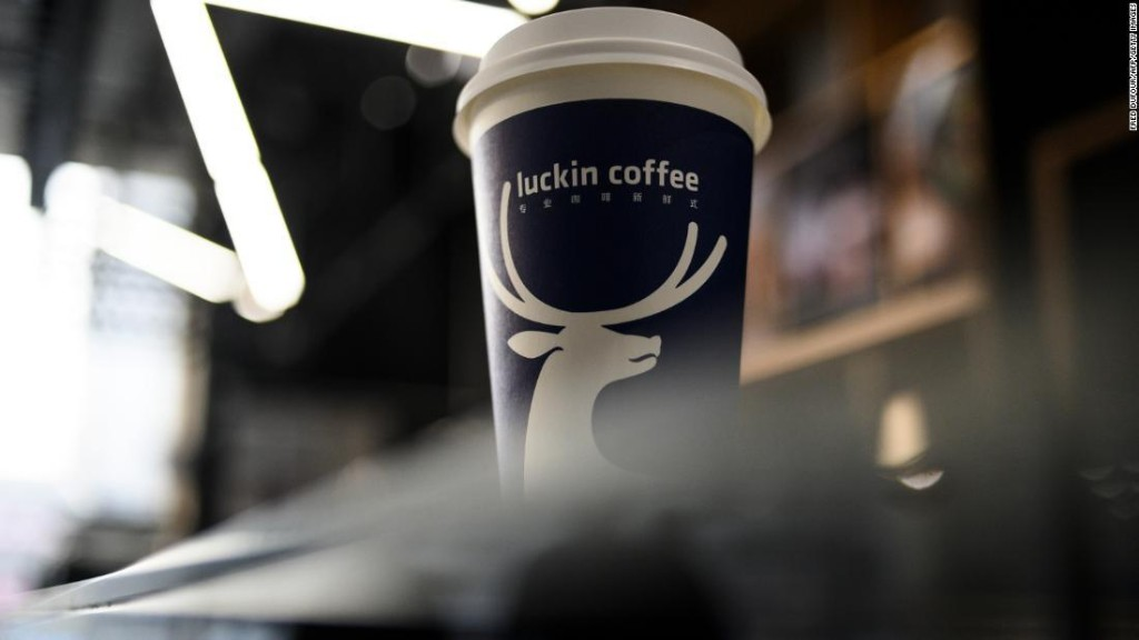 Luckin Coffee ousts chairman, names new CEO