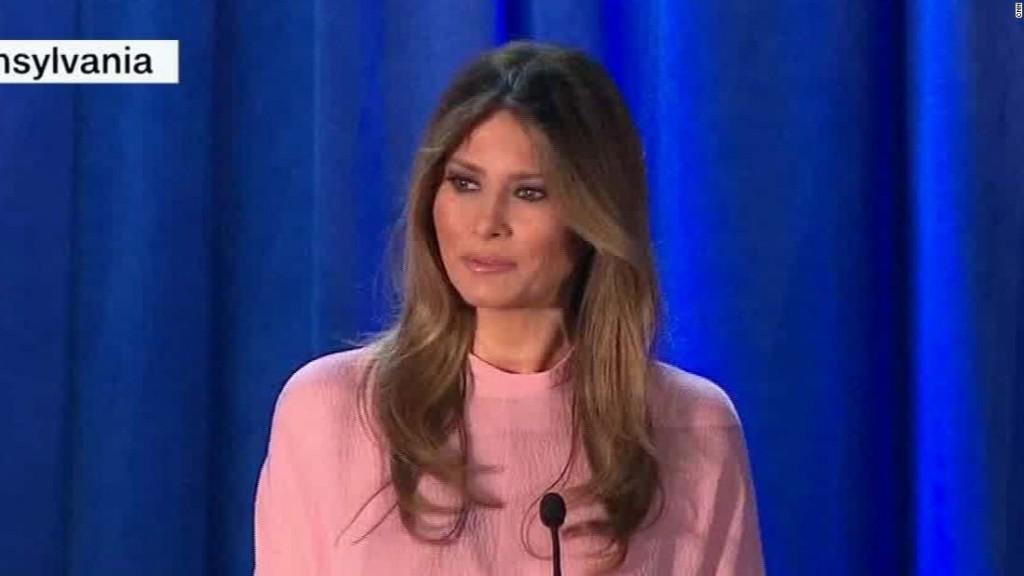 Melania Trump: Ending social media bullying would be focus as first lady