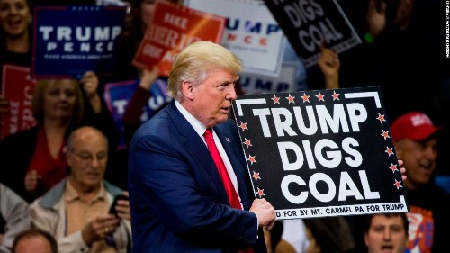 Voters have moved away from Trump on coal