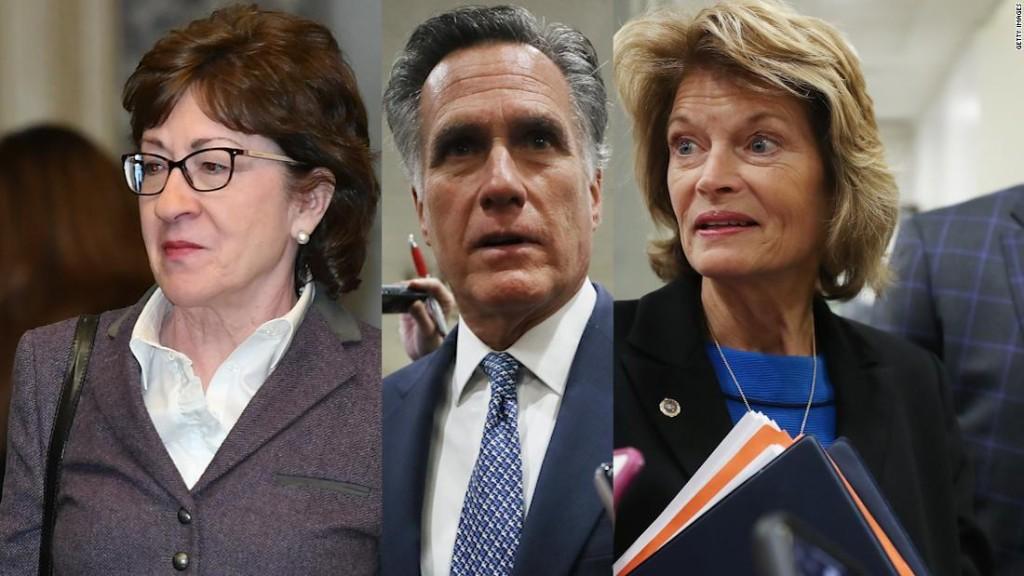 See questions key GOP senators asked Trump's team