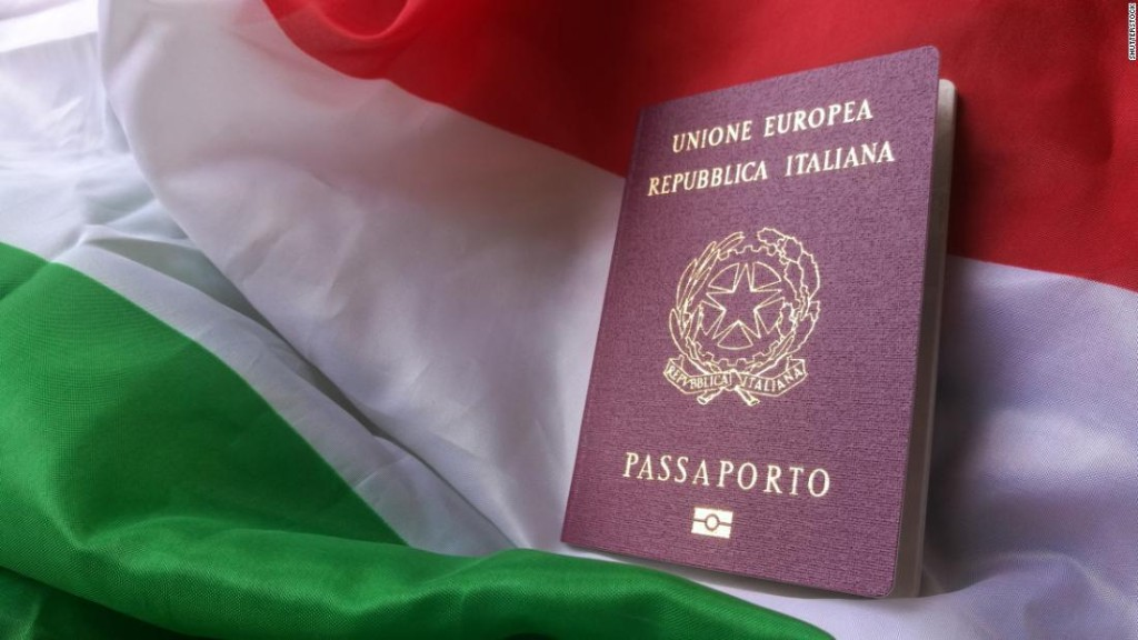 This entrepreneur helps Americans get Italian passports. Business has boomed during the pandemic