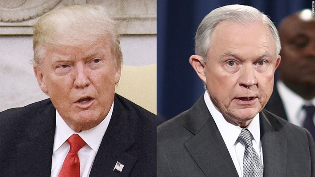 Trump trashes Jeff Sessions during interview
