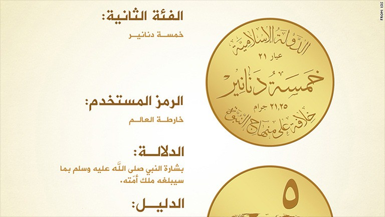 Why the new ISIS currency is doomed