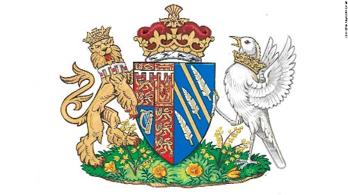 A songbird and sunshine: Meghan Markle's coat of arms unveiled