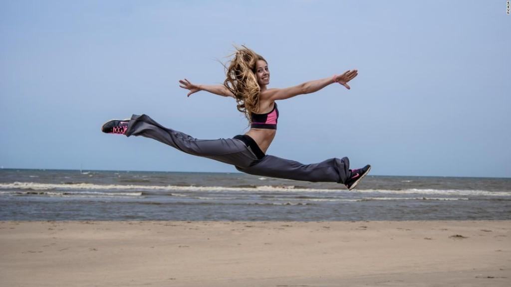 Verona van de Leur: The star gymnast who reinvented herself as a porn actress
