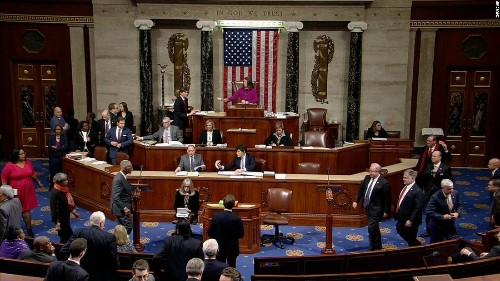 House of Representatives impeaches President Donald Trump