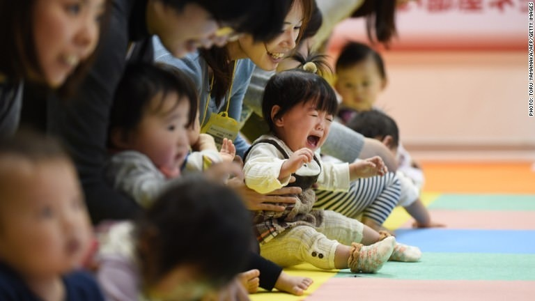 Baby shortage imperils Japan's economy
