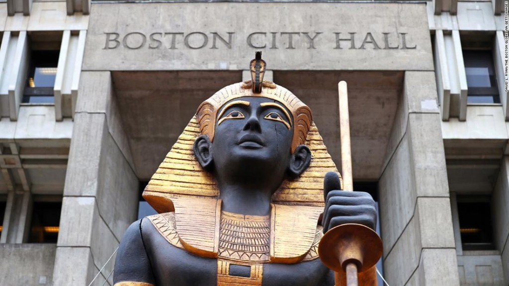 King Tut's treasures are headed to Boston for the first time in 50 years