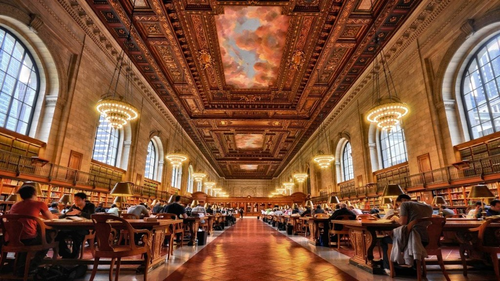 The New York Public Library's Rose Room Reopens to the Public