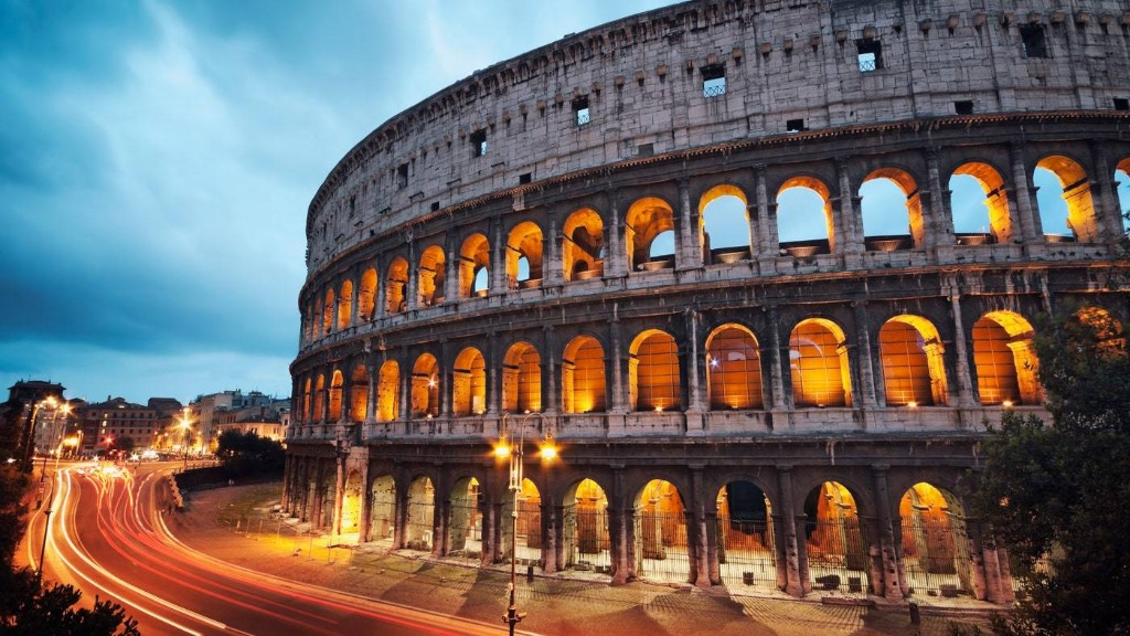 You Can Now Explore the Roman Colosseum at Night