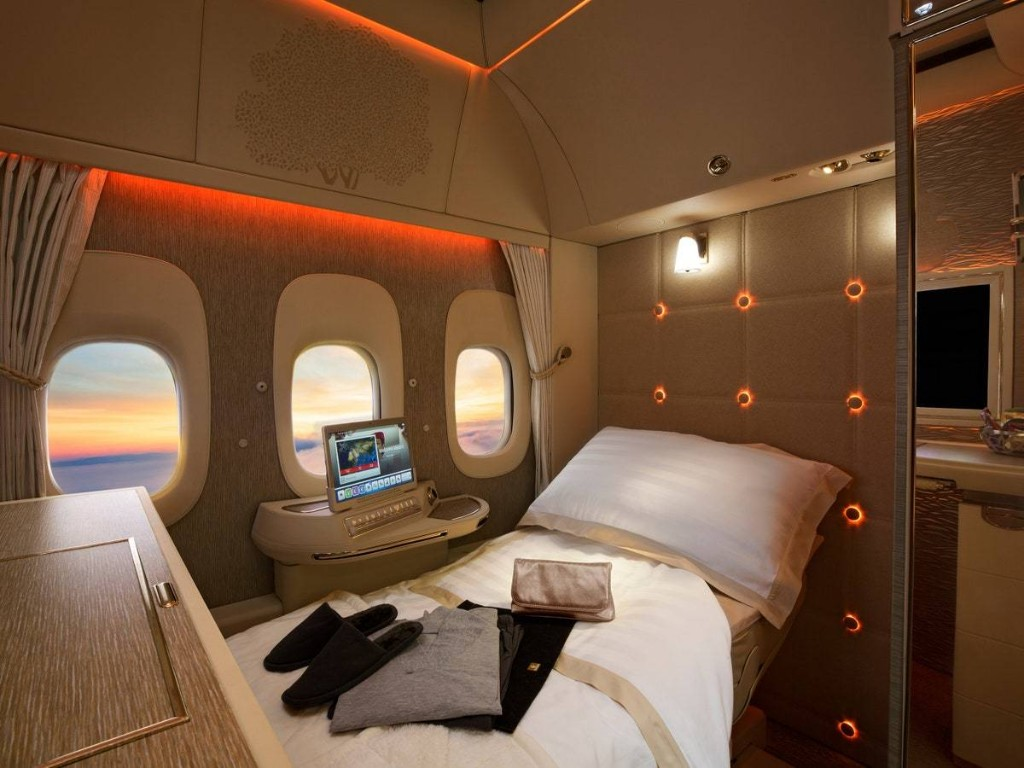 Inside Emirates' Glamorous New First-Class Suites