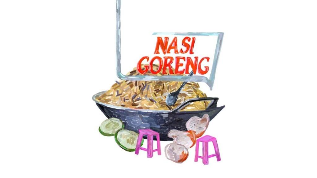 A Love Letter to Nasi Goreng, Jakarta's Street Food Staple