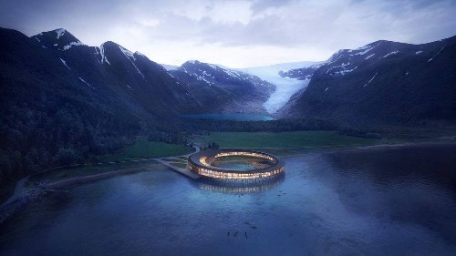 This Ring-Shaped Hotel Will Have 360-Degree Views of the Arctic
