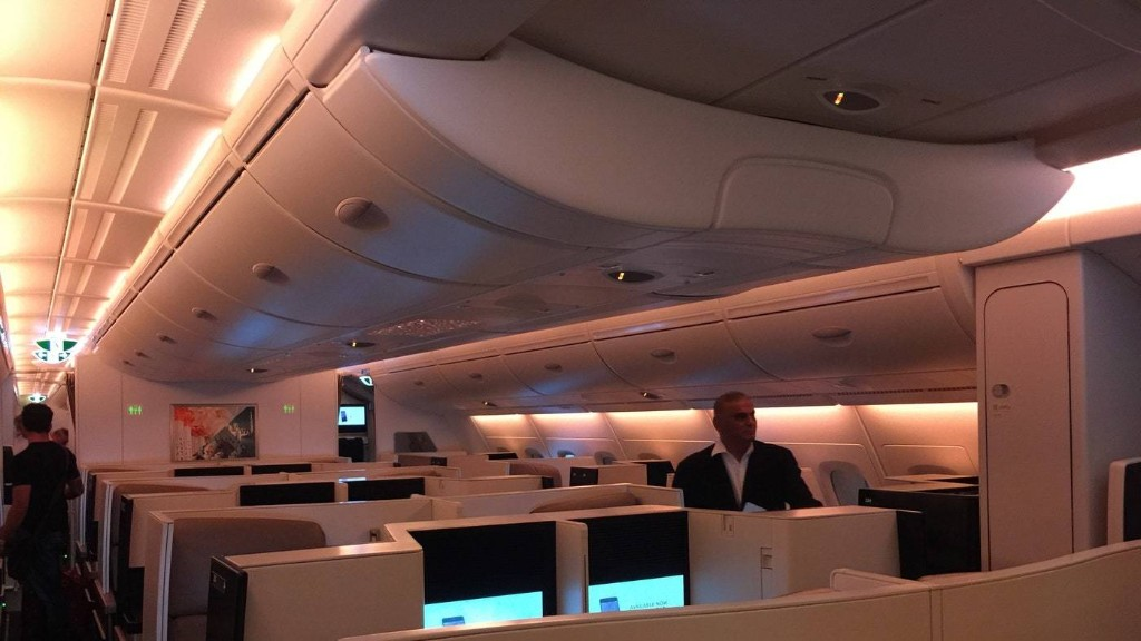 Etihad Business Class: Best Night's Sleep I've Had in a Long Time
