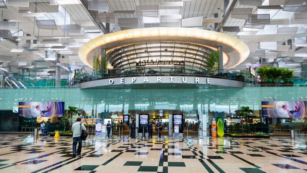 Singapore's Changi Airport Has Contactless Check-In Kiosks and Cleaning Robots