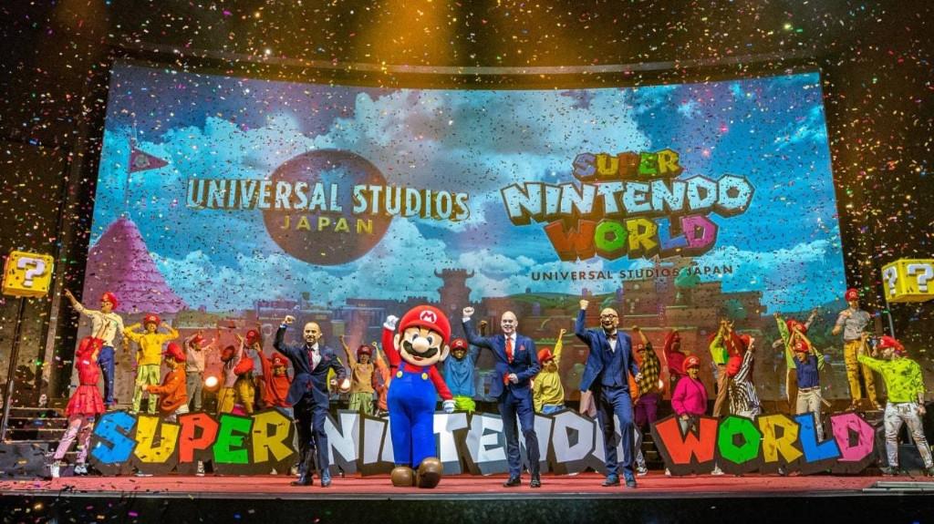 Inside Japan's Under-Wraps Super Nintendo World