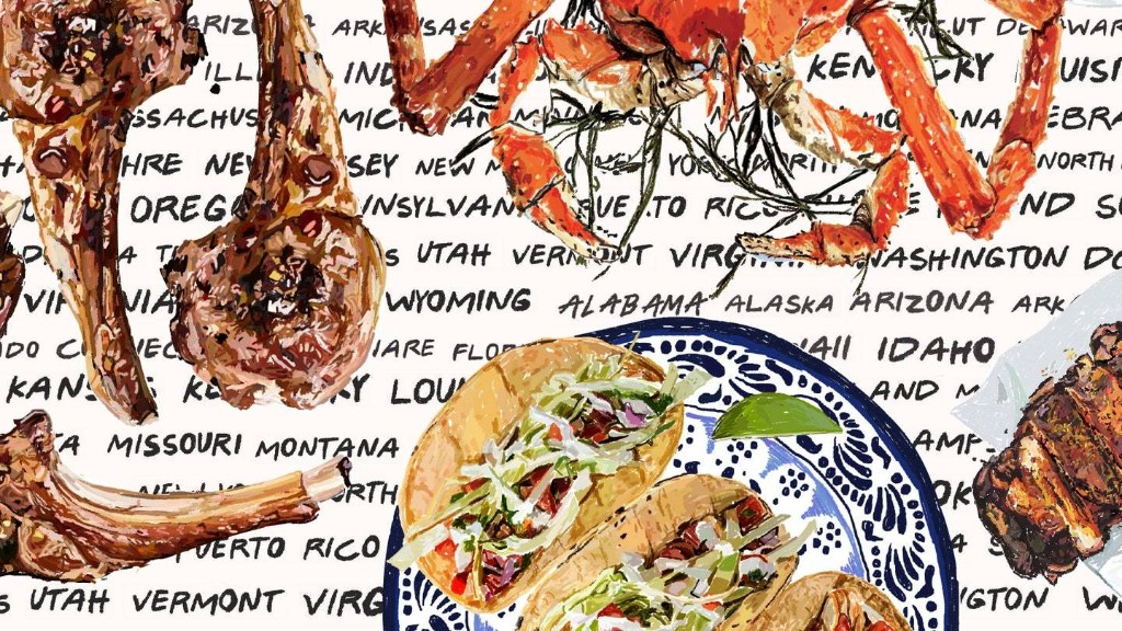 50 States, 50 Dishes: America's Favorite Foods and Where to Get Them