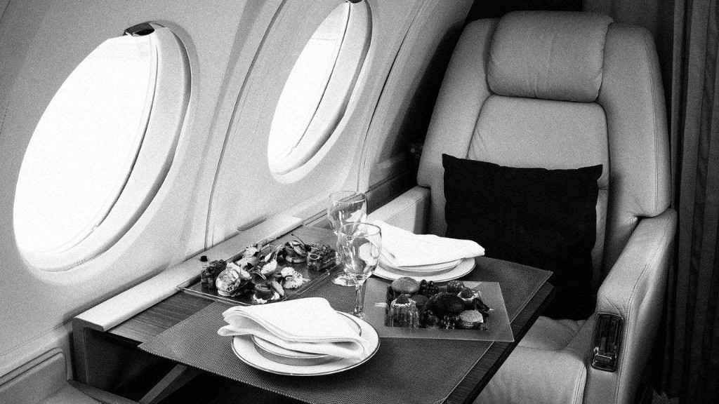 On Private Jets, No Meal Request Is Too Outrageous