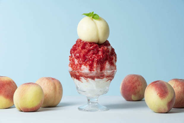 〈堀内果実園〉 の夏期限定かき氷が豪華でおいしそう!