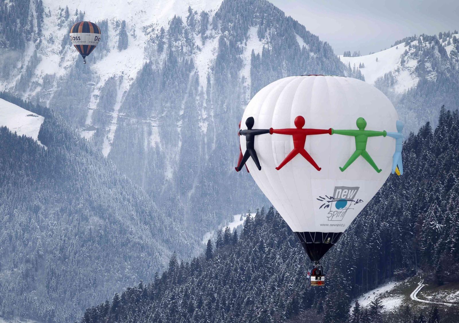 Balloon Week in Switzerland