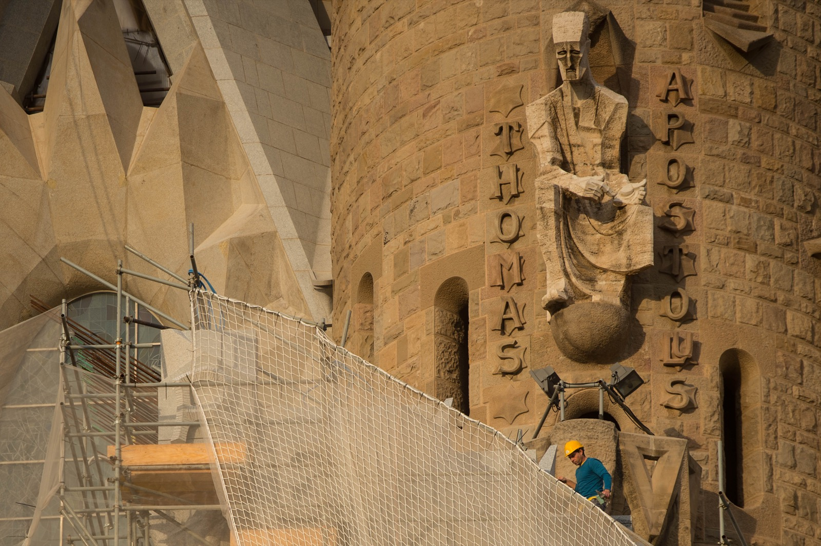 La Sagrada Familia Under Construction in Barcelona: Pictures