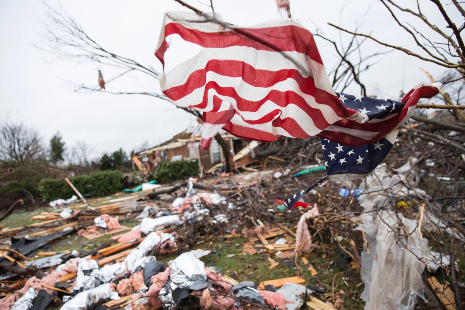 Weekend Weather Nightmare in US: Pictures