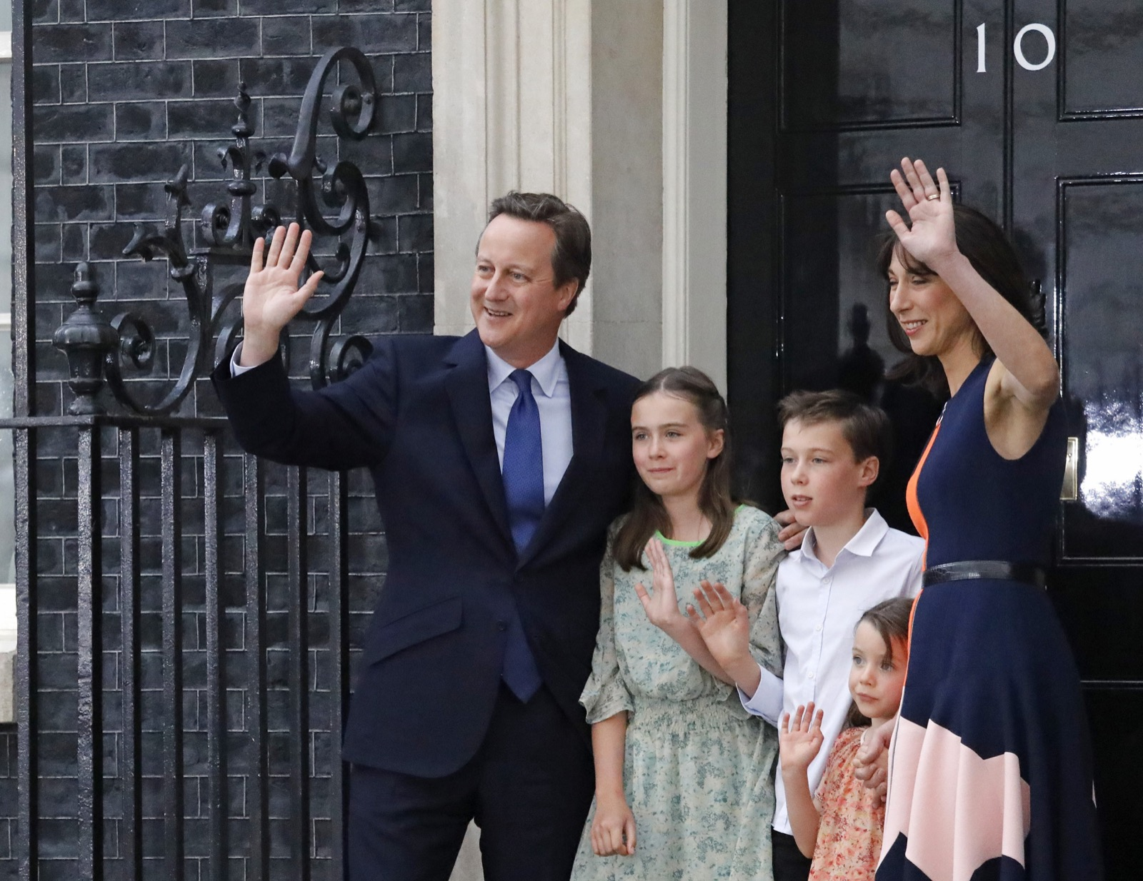 Cameron Out, May In As Britain's Prime Minister: Pictures