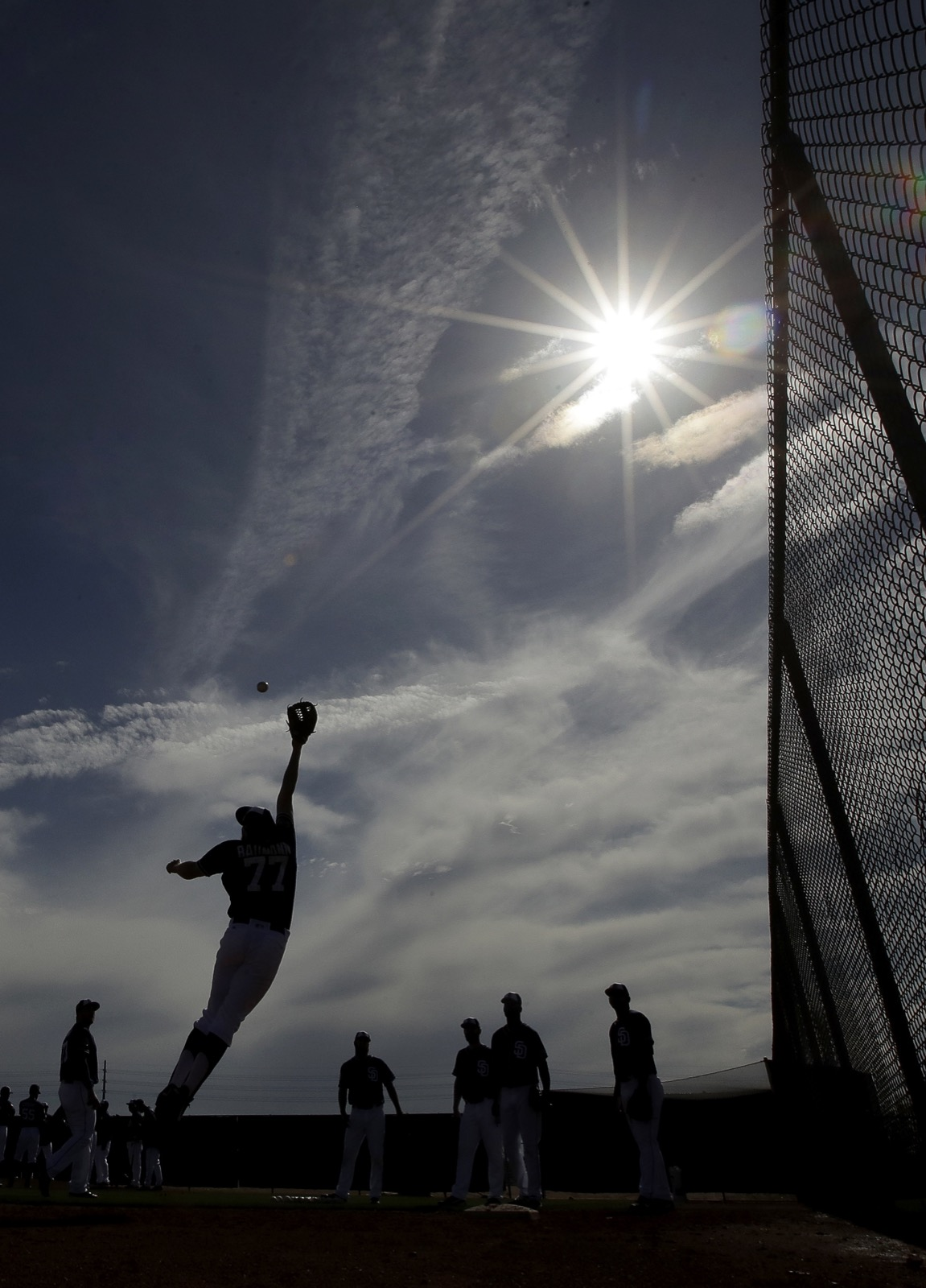 Baseball Is in the Air: Pictures