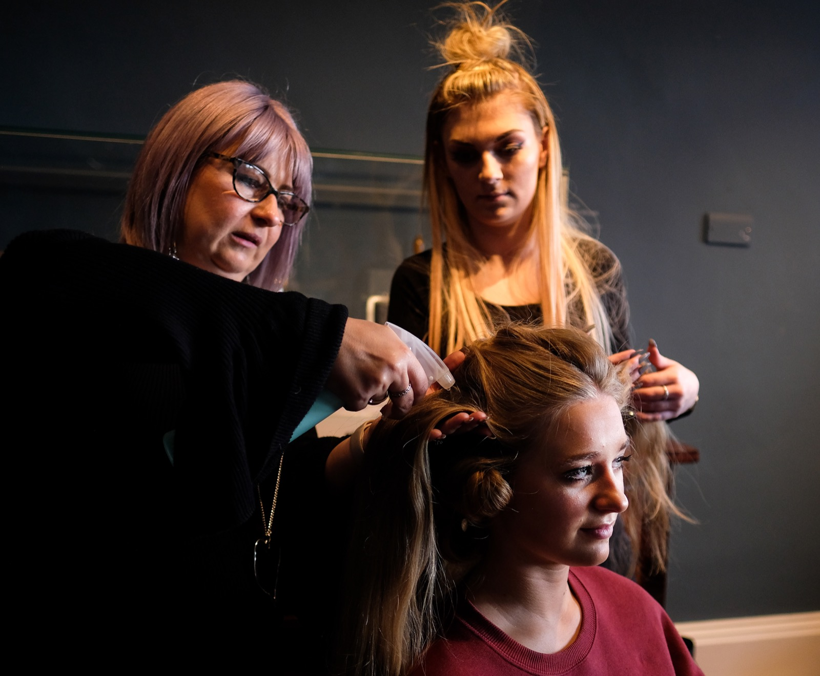 Behind the Scenes at York Fashion Show: Pictures